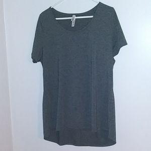 Lularoe 2x gray shirt